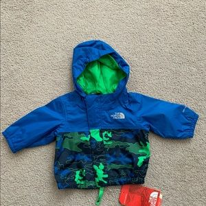 North face rain jacket 0-3